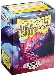 Dragon Shield 11009 Matte Purple Standard Sleeves (100 Sleeves)