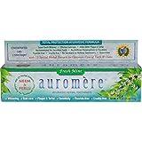 Pasta de dientes a base de plantas, menta fresca, 4,16oz (75ml/117g)–auromere–UK vendedor