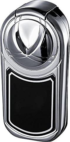 Visol Dobrev III Triple Torch Flame Polished Chrome Lighter by Visol