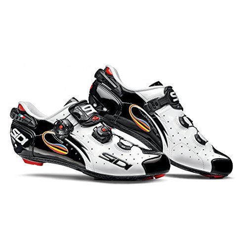 Chaussures route WIRE VERNIS 2016 Cyclisme Sidi blanc/noir