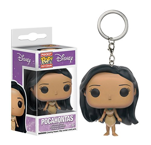 Disney - Vinyl Schlüsselanhänger - Pocahontas (Disney-figur Geldbörsen)