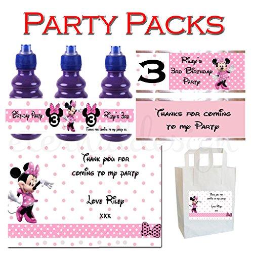 Eternal Design personnalisé enfants fête d'anniversaire Packs Kbpp 9
