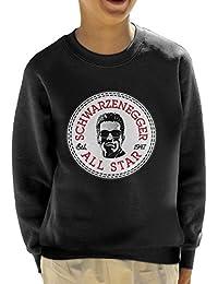 Arnold Schwarzenegger All Star Converse Logo Kid's Sweatshirt
