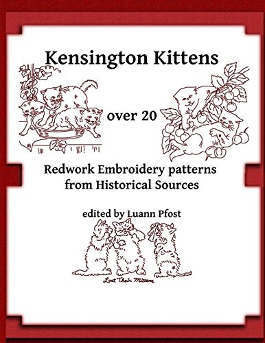 Kensington Kittens Embroidery Patterns Historical