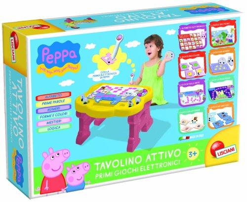TOYLAND Peppa Pig - Pupitre educativo, juguete electrónico (Liscianigiochi)