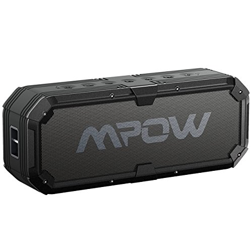 Mpow MBS7-ESK-V - Lautsprecher mit Bluetooth 4.0(Dual Stereo, 20 W, USB-Ausgang, 5V / 2A, 5200mAh)