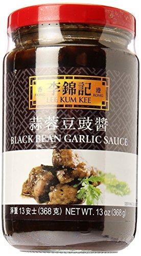 Lee Kum Kee Schwarze Bohnen-Knoblauch Sauce 358g