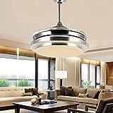 LUO Candeliere da 36 Pollici a soffitto da 42 Pollici con luci da Salotto, luci da Ristorante, lampade Moderne per fanali, lampadari a LED,36 Pollici