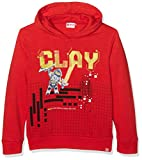 LEGO Wear Jungen Sweatshirt Boy Nexo Knights Skeet 803, Rot (Red 359), 104