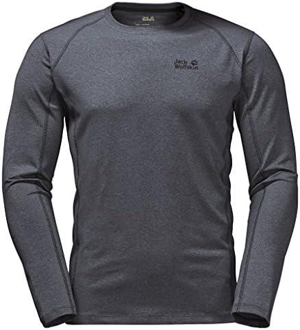 Jack Wolfskin – – – Funzione Shirt, grigio | Design affascinante  | all'ingrosso  399156