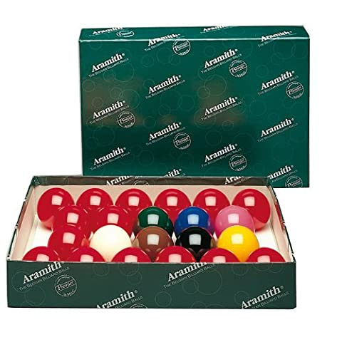 Jeu de Billes ou Boules de Billard Snooker Aramith 57 mm - Aramith
