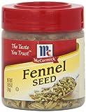 McCormick Fenchel Samen, 24, 1 Gramm Behälter (6er Pack)