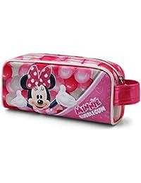 Karactermania Minnie Mouse Bubblegum  Estuches, 20 cm, Rosa