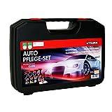 STARK 40057 Auto-Pflege-Set im Koffer - Felgenreiniger, Insektenentferner, Cockpitpflege, Scheibenversiegeler-Set