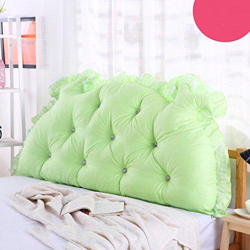 Uus Romantique Moderne BedHead Coussin Pastorale Style Princesse de rêve Bed Chef Coussin de Dossier formats différents pour Votre lit Simple Choix Coussin 100 * 70 * 15 cm V