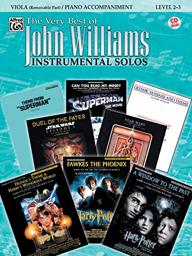 The Very Best of John Williams for Strings: Viola / Piano Accompaniment (incl. CD)