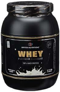 British Nutrition Whey Platinum Standard - 0.5 kg (French Vanilla)