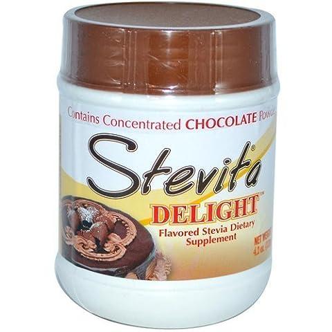2 Packs of Stevita Delight Chocolate Drink Mix - 4.2 Oz by Stevita