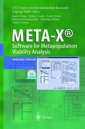 META-X®-Software for Metapopulation Viability Analysis