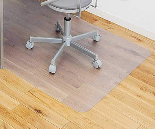 GiovaneDora Clear Chair Mat for Hard Floors, 75x120cm (2.5'x4'), Rectangular, High Impact Strength, Non-Slip, Non-Recycling Material