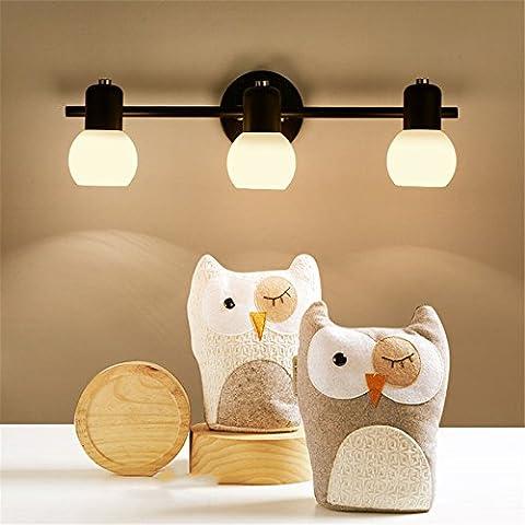 CNMKLM moderno candelabro de cristal de la lámpara de pared para Baño Dormitorio Base de luz de iluminación del hogar Lamparas,#18,con el mejor servicio