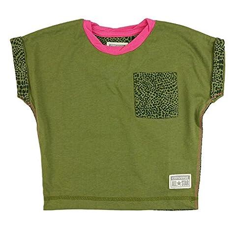 Converse Girls Leopard Camo Pocket Tee - 3-4 Years /