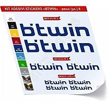Pegatinas Bicicleta BTWIN _ Kit 1 _ Kit Pegatinas Stickers 08 piezas – Elige Subito colore