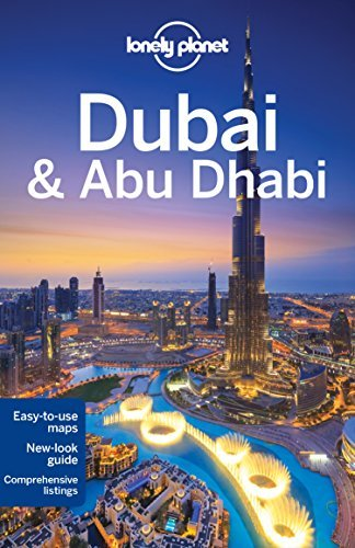 Portada del libro Lonely Planet Dubai & Abu Dhabi (Travel Guide) by Lonely Planet (2015-10-01)