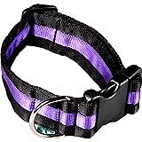 arppe 198004060121 Halskette, verstellbar, Nylon, Schwarz und Violett