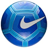 NIKE PITCH PREMIER LEAGUE FOOTBALL 2017/2018, Multicolor (royal / cyan / white), size 4