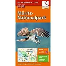 Rad- und Wanderkarte Müritz-Nationalpark: Maßstab 1:50.000, GPS-geeignet, Erlebnis-Tipps auf der Rückseite