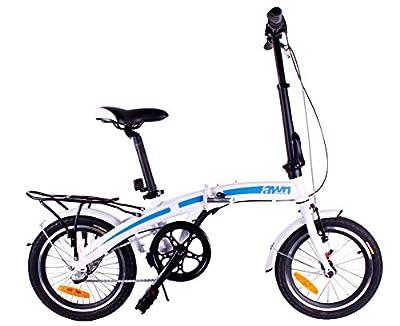 "AWN Fahrrad 16"" 3 Gang Klappfahrrad Faltrad"