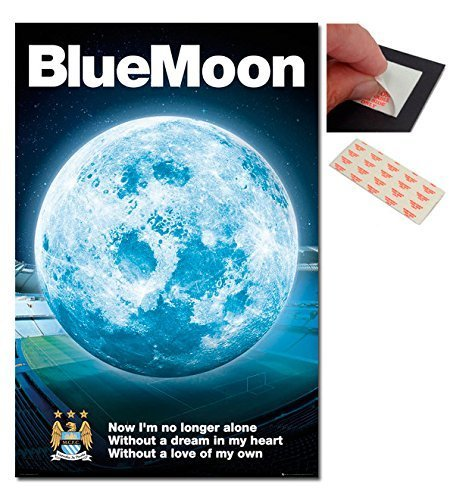 bundle-2-artikel-manchester-city-fc-blau-mond-2015-plakat-915-x-61cm-36-x-24-zoll-and-ein-set-mit-4-