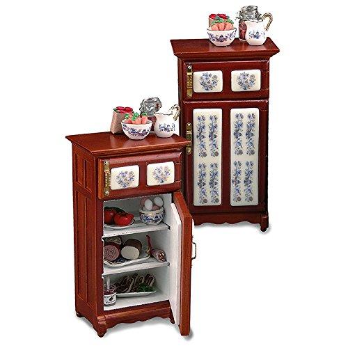 Reutter Miniaturen - Kühlschrank Goldzwiebel (12 1 Kühlschrank Maßstab)