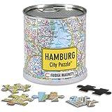 City Puzzle Magnets - Hamburg