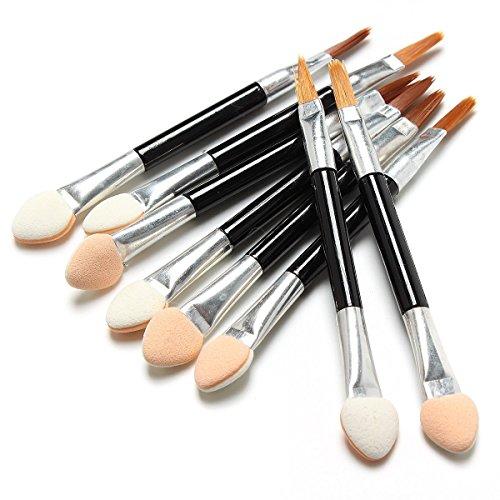 5starwarehouse ® 20 x jetable maquillage éponge Ombre à paupières applicateur brosse double face à lèvres cosmétique outil – 5Star Chiffon inclus