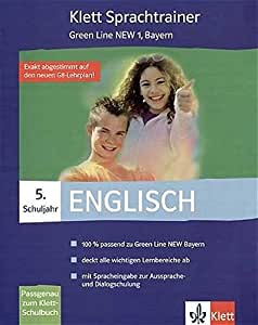 Sprachtrainer, Green Line NEW, Ausgabe Bayern. 5. Klasse. CD-ROM für Windows 98Se/ME/NT/2000.
