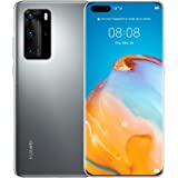 "Huawei P40 Pro Smartphone 5G,Dual SIM,256 GB ROM,8GB RAM,50MP,4200 mAh,6.58"" Display -Silver Frost"