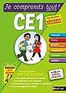 Je comprends tout - Tout en un CE1 - Nouveau programme 2016 par Petit-Jean