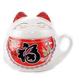Gro e japanische dekoration winkekatze neko id ogramme bonheur k che haushalt - Japanische dekoration ...