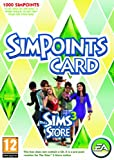 Cheapest The Sims 3 Store 1000 SimPoints Card (Points Card) on PC