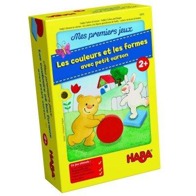 HABA-Mes Premiers Jeux Les Couleurs et Les Formes avec Petit Ourson, 005975