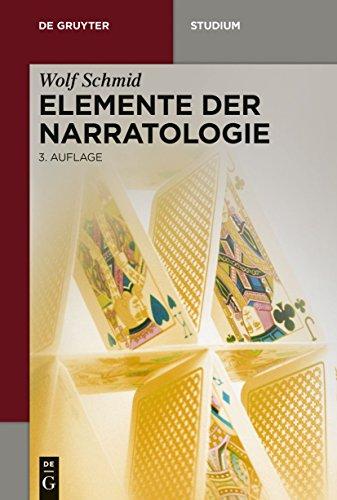 Elemente der Narratologie (De Gruyter Studium)