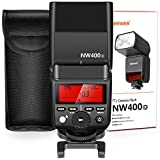 Neewer Kamera-Blitz 2,4G kabellos TTL HSS 1/8000s GN36 Master Slave Speedlite für Olympus E-M10II E-PL8 PL7 Pen-F Panasonic DMC-GX85 LX100 Kameras mit hartem Diffusor (NW400o)