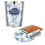 LAPURETE'S® Paquete de 10 Gramos De 25 Paquetes De Gel De Sílice Desecante Deshumidificadores (Regeneración)