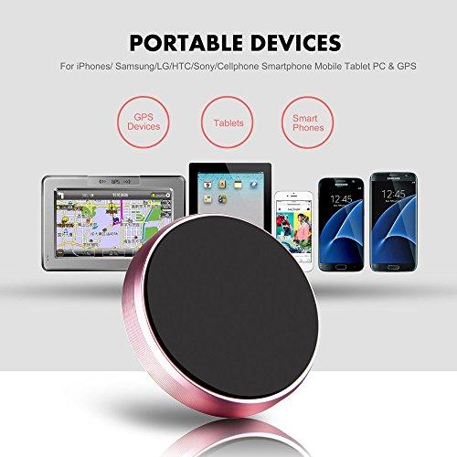 Boka RetailsTM High Power Magnet Universal Car Phone Holder Aluminum Alloy Magnetic Plate Mount Multi Use Key Stand, Remote Holder, Mobile Holder, Mobile Charging Stand