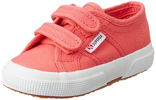 Superga 2750-Jvel Classic, Baskets Basses Mixte Enfant Rose (Pink Rose Paradise)