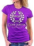 Photo de T-Shirt à Manches Courtes à col Rond et à Manches Courtes pour Femmes de Camp Jupiter par wwoman