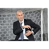 Zinedine Zidane (35x24 inch, 89x60 cm) Silk Poster Seda Cartel PJ19-7B1A