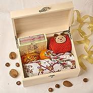 Boîte de réveillon de Noël en bois personnalisée - Cambre (Xmas Eve Box - Arch)